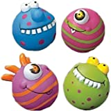 Fun Express Assorted Monster Water Squirt Balls - 12 Pieces