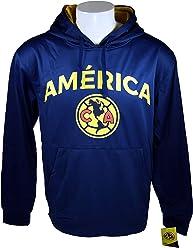 Club America Front Fleece Jacket Sweatshirt Official License Soccer Hoodie 015