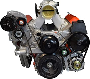ICT Billet LS1 Camaro A//C Air Conditioner Compressor Sanden 7176 Bracket Kit LS LSX AC 551352-2