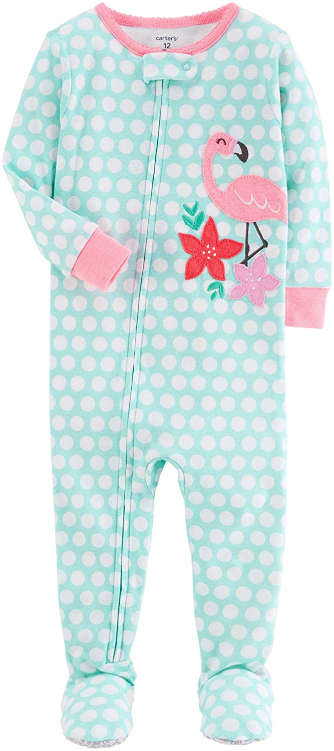 Carter's Girls' Footed Pajamas Carter' s P000515695