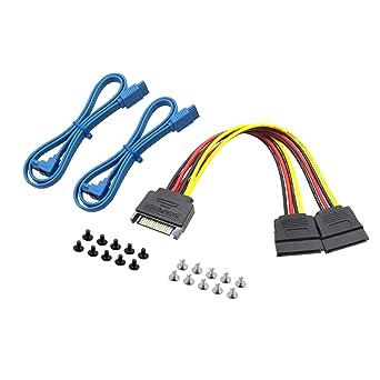 """Lot 10pcs 90Degree SATA 3 18/"""" SATA 3.0 Cable Cord 6GB//s Fit For Hard Drive Black"""
