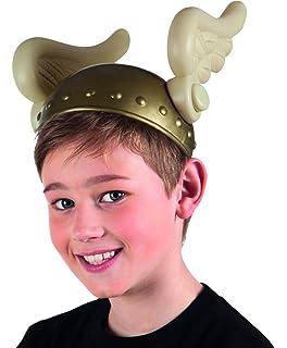Un elmetto da bambino color oro per il travestimento da guerriero ... 07d094bf6736