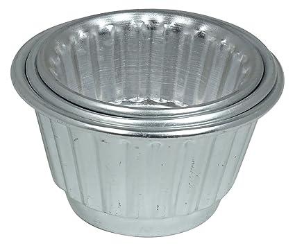 Las Mini Aluminio Moldes Jalea De Bicarbonato De Juego De Moldes De 3 Piezas