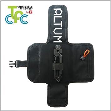 MODULAR Bicycle Multi-Tool y Tool Roll - 14 Función Bike Tool y Saddle Bag Storage Pack: Amazon.es: Deportes y aire libre