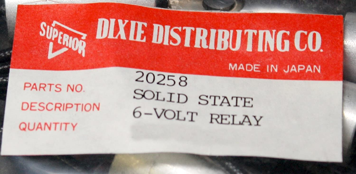 """Battery to Generator Superior #20258 36/"""" 6V Solid State Relay"""