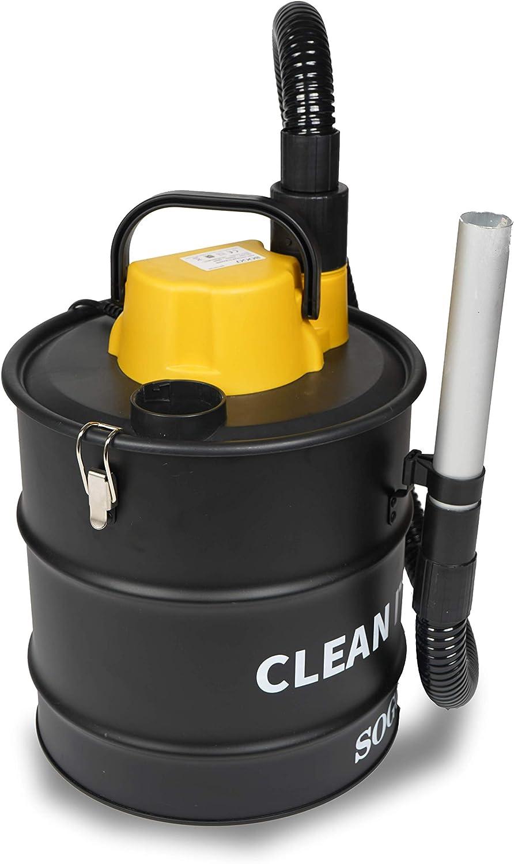 SOGO SS-16130 Aspirador de Ceniza y Soplador Para Encendido y Barrido de hojas, Aspiradora para Pellets, Chimeneas, Barbacoas, Estufas de Leña, Serrín, Cenizas - 1200W 20L - Color: Negro: Amazon.es: Hogar