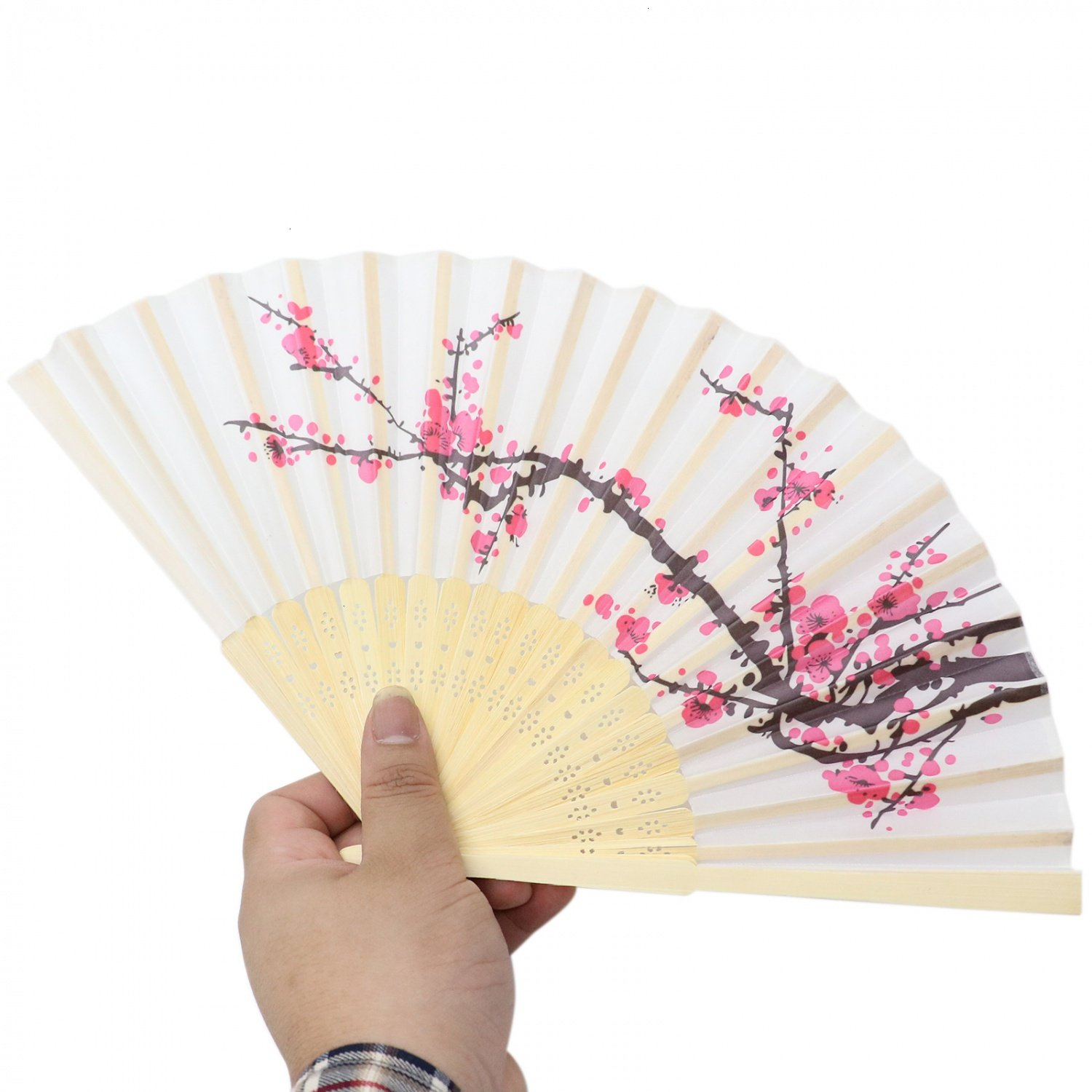 Amazon.com: HUELE 8 Pack Chinese Style Delicate Cherry Blossom ...