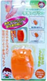 アイワ ハンドブラシ オレンジ  手洗いブラシ_指先にも_日本製