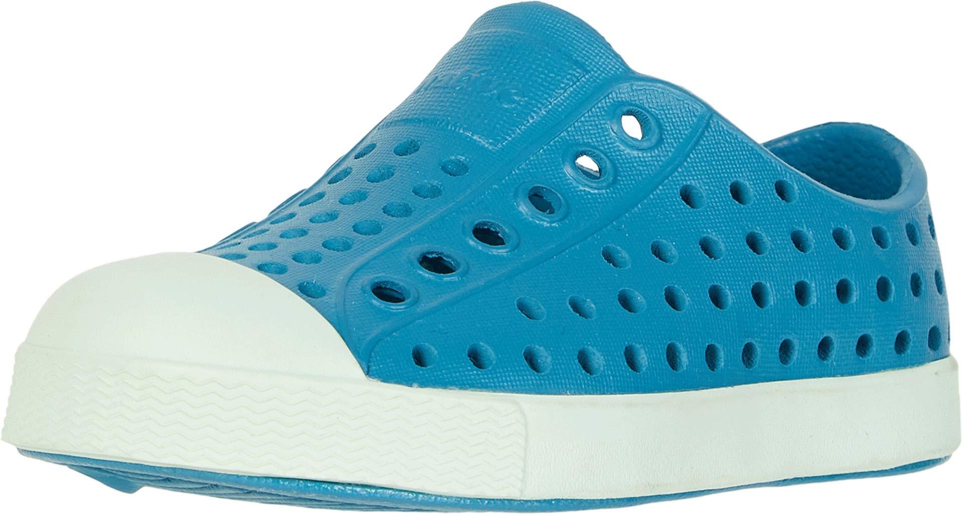 Native Kids Shoes Unisex Jefferson (Toddler/Little Kid) Depth Blue/Celtuse Green 13 M US Little Kid by Native