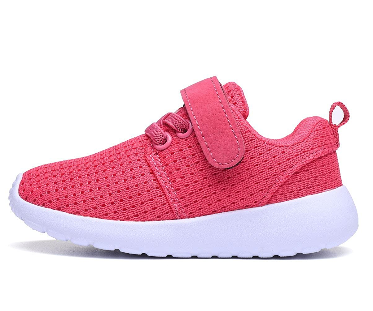 DADAWEN Babys Boys Girls Casual Light Weight Breathable Strap Sneakers Running Shoe 10069LT