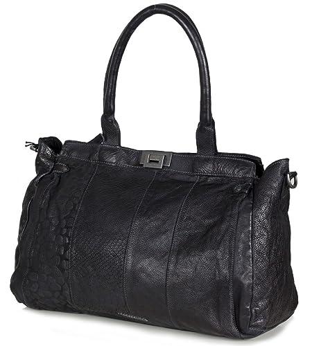 e3372563fcd3a Billig Verkaufen Niedrigsten Preis FredsBruder Handtasche Leder Personal  Business black Günstig Kaufen Die Besten Preise Footlocker
