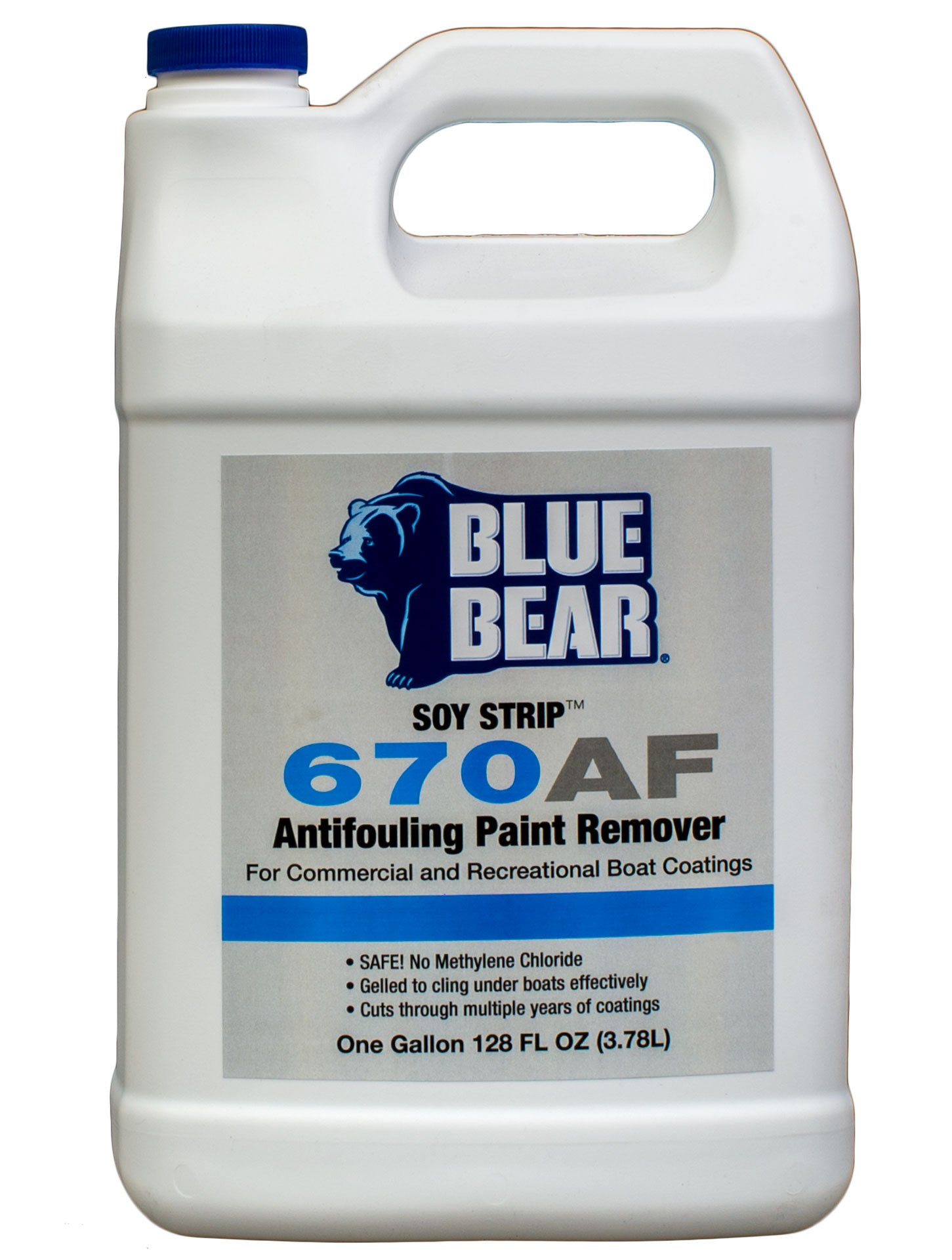 BLUE BEAR 670AF Anti-Fouling Paint Remover Gallon