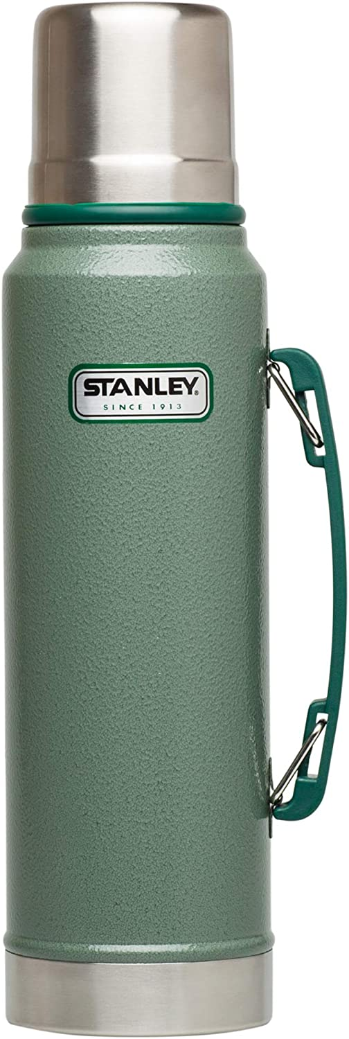 Stanley Classic Vacuum Insulated Wide Mouth Bottle - BPA-Free 18/8 Stainless...