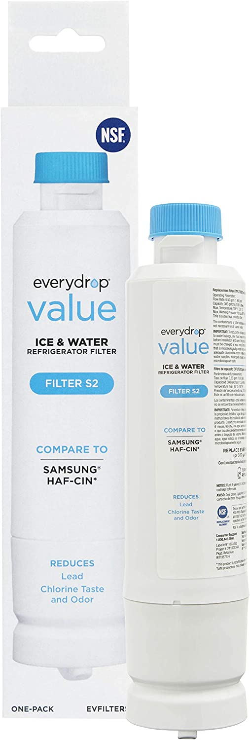 everydrop EVFILTERS2 replacement Samsung DA29-00020B Refrigerator Water Filter