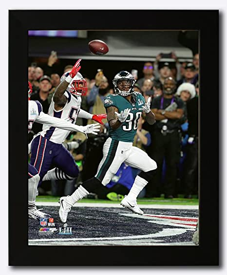 3a9324b0cf3 Philadelphia Eagles Corey Clement Scores a Touchdown During Super Bowl 52  Framed 8x10 Photo, Picture