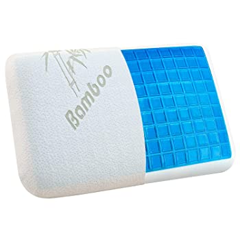 VECELO Bamboo Memory Foam Gel Pillow