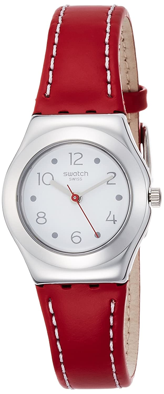 Swatch Quartz Movement White Dial Ladies Watch YSS307