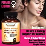 Female Libido Supplement Pills w Maca & Tribulus