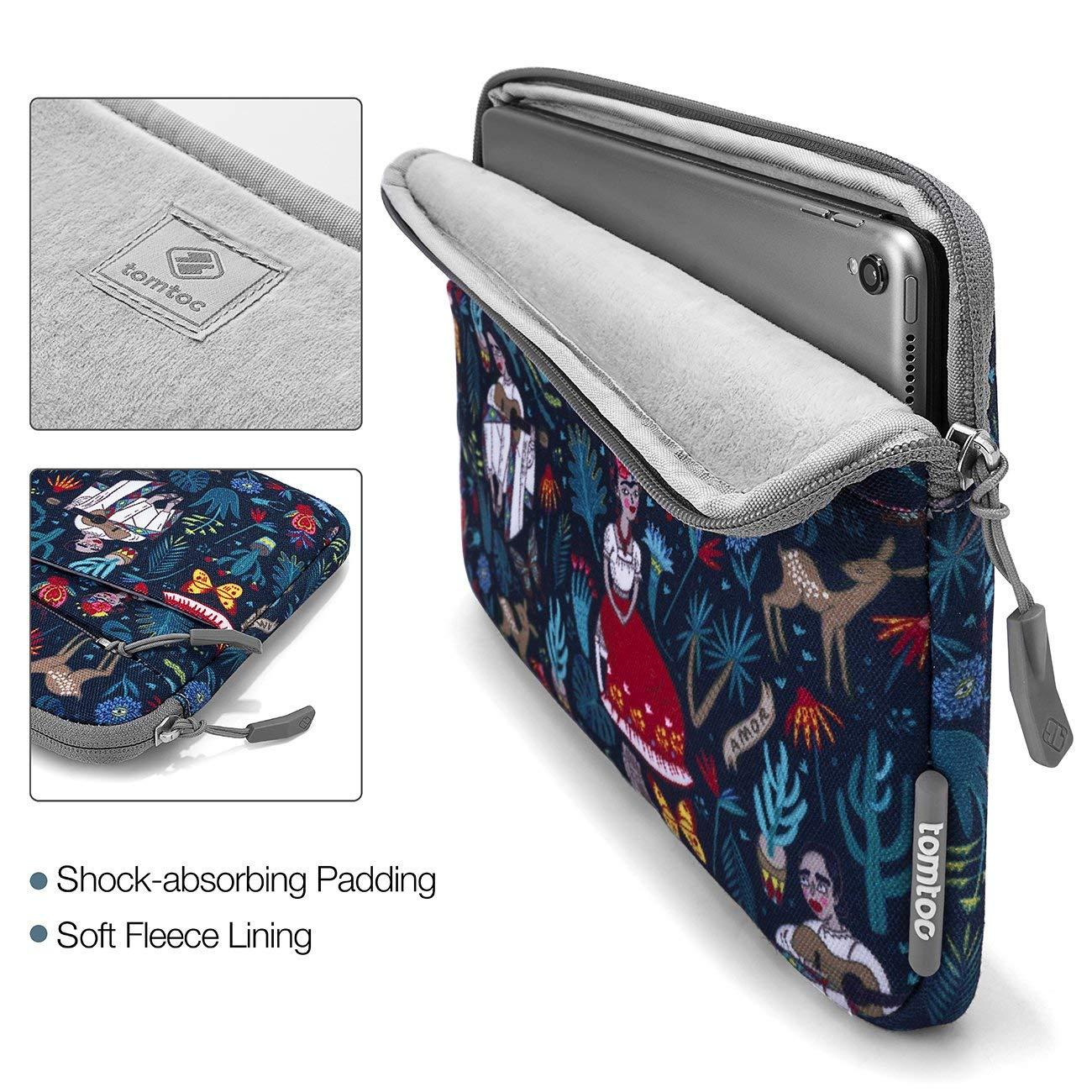Resistente al Agua Rosa Beb/é con Bolsillos de Accesorios New MacBook Pro A2159 A1989 A1706 A1708 tomtoc 12,5 Funda Port/átil Delgada para 13 New MacBook Air A1932 DELL XPS 13 Surface Pro 5 4 3