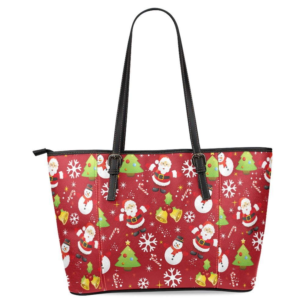 InterestPrint Womens Leather Tote Shoulder Bags Handbags