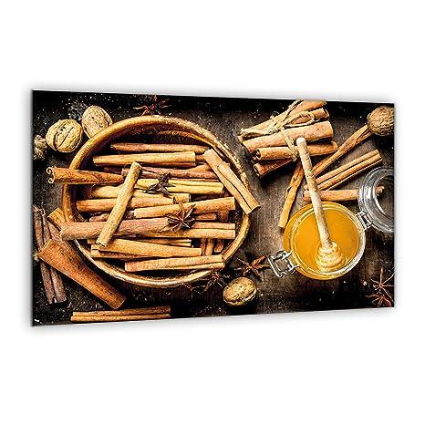 Compra decorwelt | para cubrir la vitrocerámica miel marrón ...