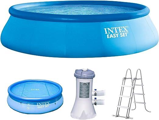Intex 488 x 107 Juego completo con bomba de filtro 28638 GS, Intex ...