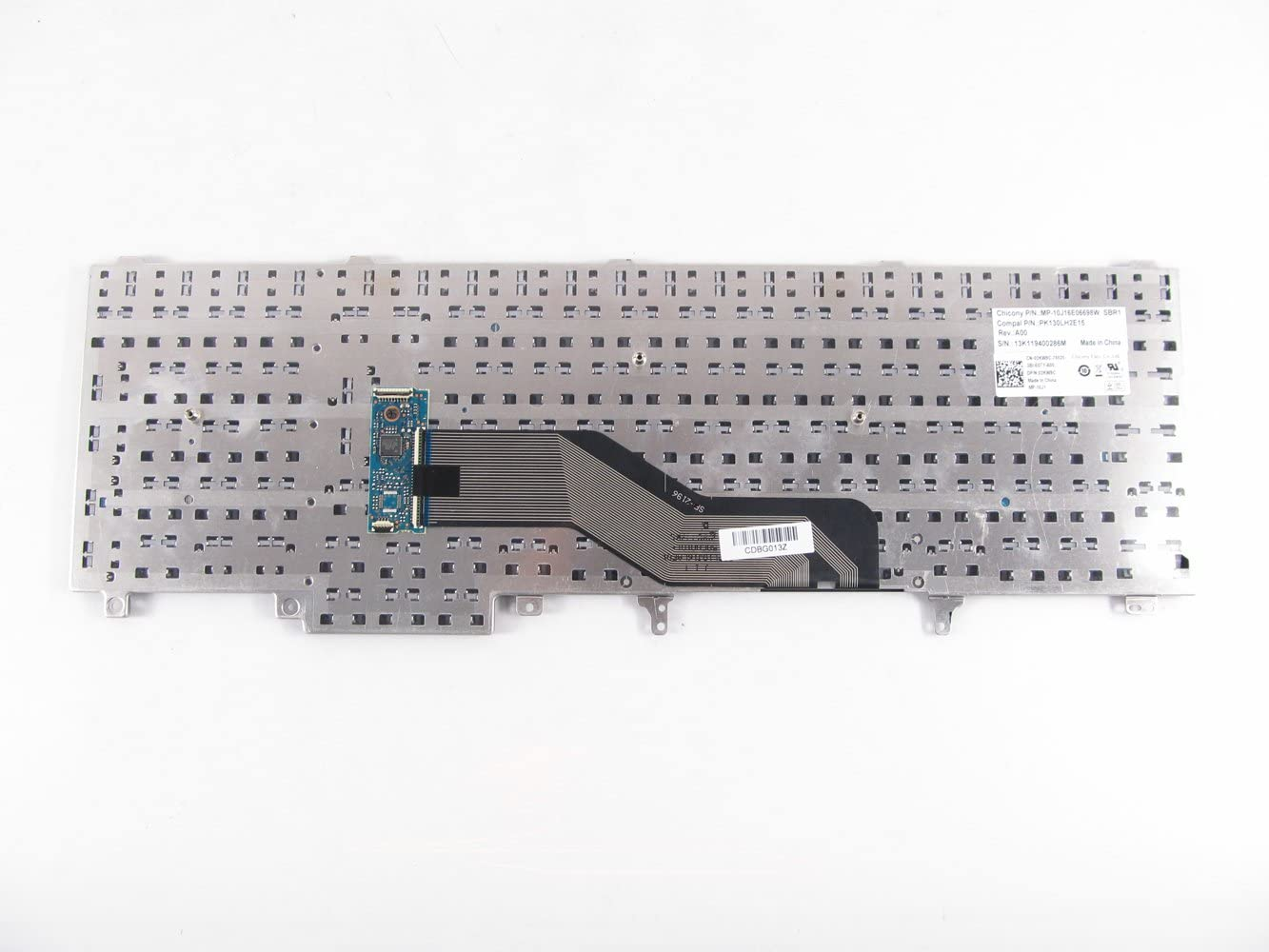 Abakoo New Keyboard for Dell Precision M4600 M4700 M4800 M6600 M6700 M6800 Latitude E5520 E5530 E6520 E6530 E6540 US HG3G3 0HG3G3 7T425 07T425 NSK-DW2BC 01 Non-Backlit