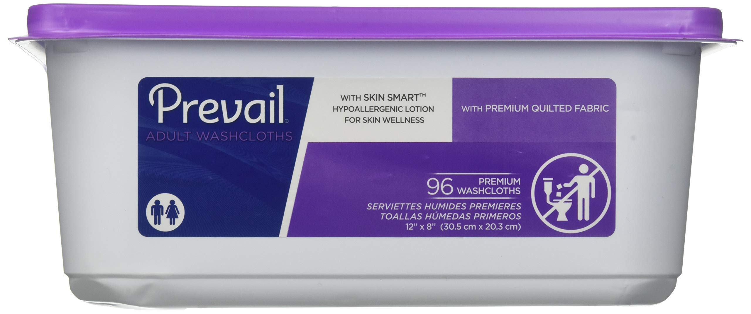 Prevail® Premium Cotton Washcloths - Case/576 by Prevail