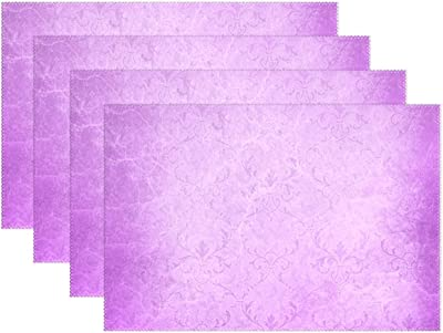 Amazon Aikening Wall Texture Pattern Color Template Placemats