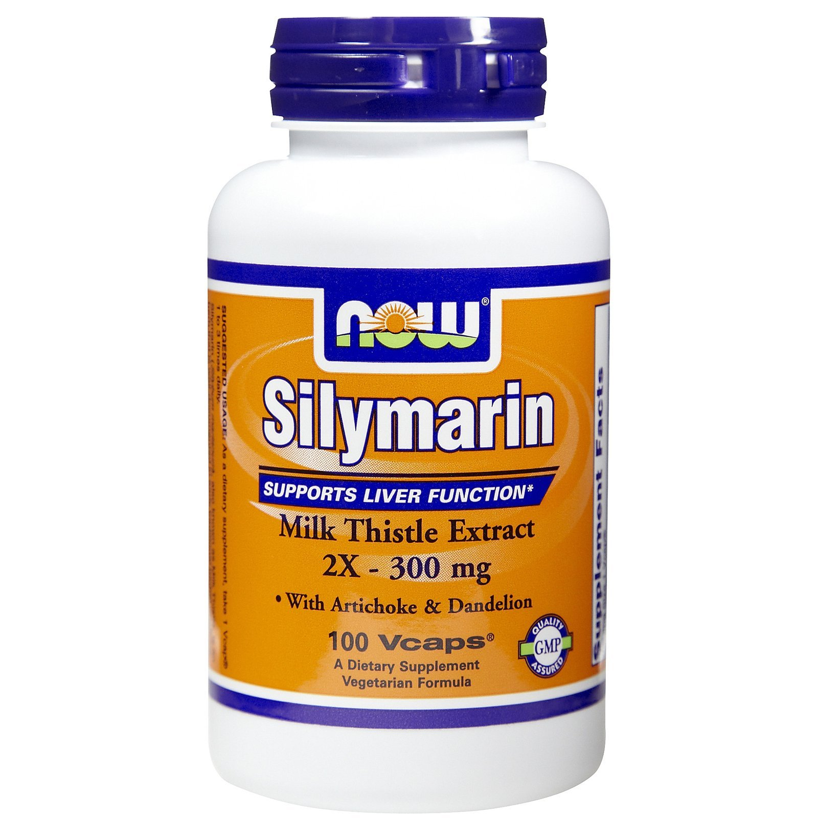 Silymarin, 300 mg, 2X 100 Vcaps by Now Foods (Pack of 8)