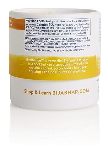 Bija Bhar Resilience Turmeric Elixir