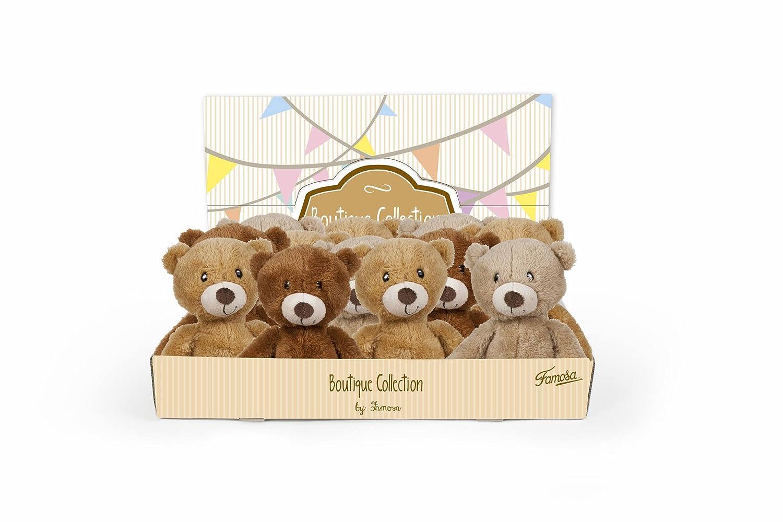 Famosa Softies - Oso de peluche Smarty Bear, color marrón (760013783) 8410779400635