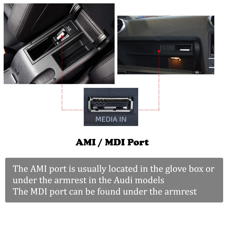 Blizim AMI MDI MMI a 3 RCA Video Cavo per Audi Volkswagen