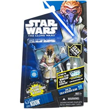 NO 09 CHEWBACCA STAR WARS CLONE WARS ANIMATED ACTION FIGURE CW NO