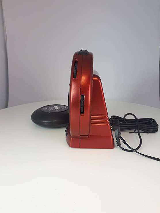 Geemarc Telecom S A Sbb500ssr I Sonic Bomb Vibrationswecker Kunststoff Plastik Metal Rot One Size Küche Haushalt