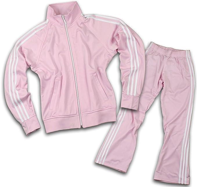 adidas joggers womens. amazon.com: adidas womens athletic tracksuit, pants and jacket, light pink (medium): sports \u0026 outdoors joggers