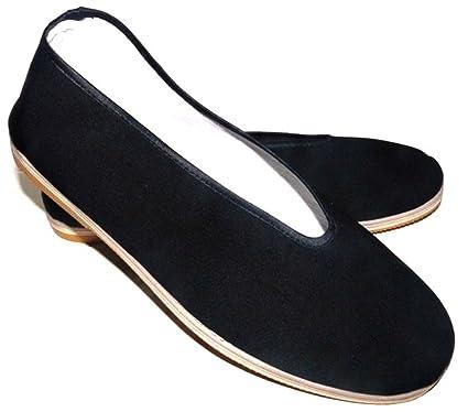 Tortuga de Jade – Zapatillas tradicionales chinas tradicionales Wu Dang, negro, ...