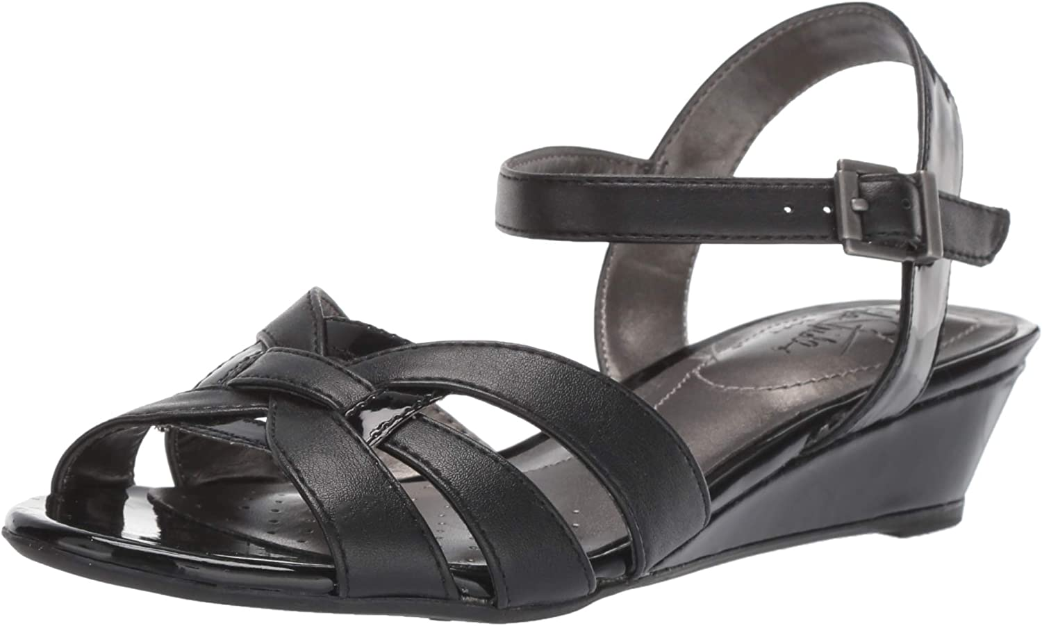 LifeStride Women's Yvette Wedge Sandal
