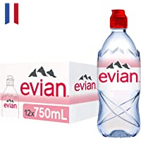 Evian Natural Mineral Water, 12 x 750ml