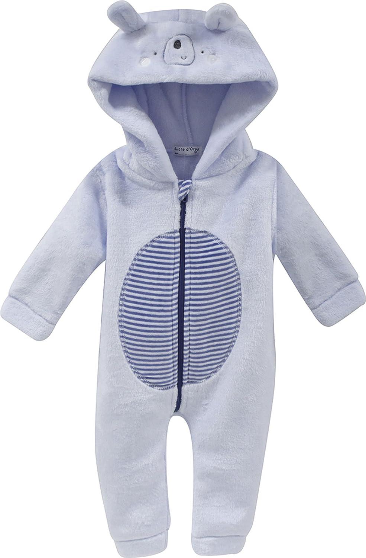 Sucre D'Orge - sleepwear - Masculin - 1 - surpyjama ciel - Taille 6 Mois - Couleur Bleu Sucre D' Orge