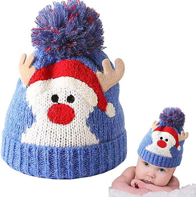 Knitted Baby Kids Hat for Winter