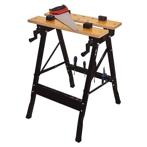 Wolf Folding Work Bench Mate Tool Diy Workbench Clamp