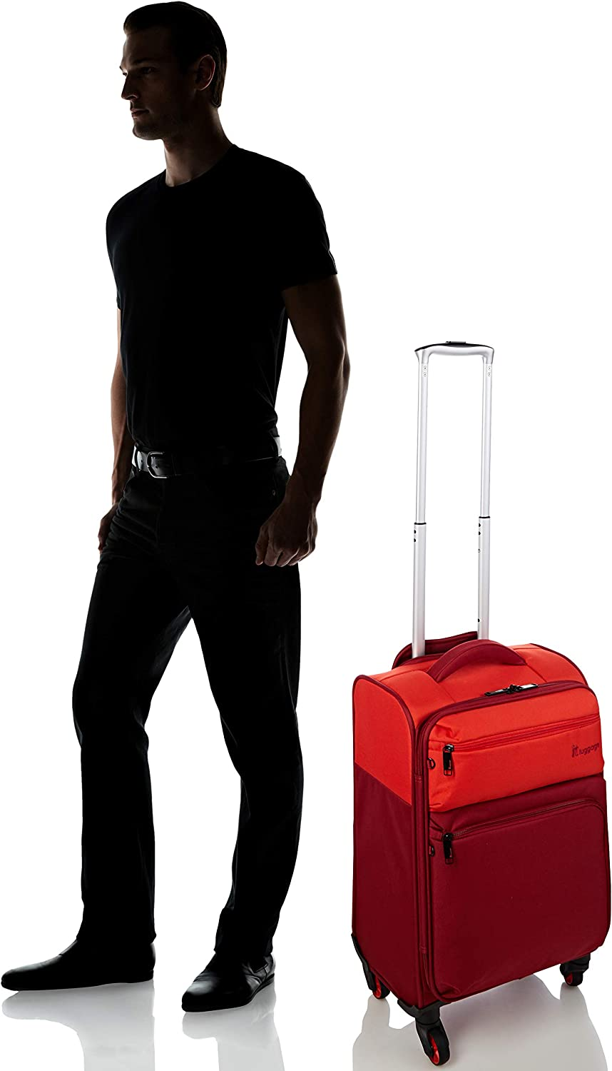it luggage Duotone The Lite 4 Wheel Lightweight Suitcase Cabin Valise 53 cm