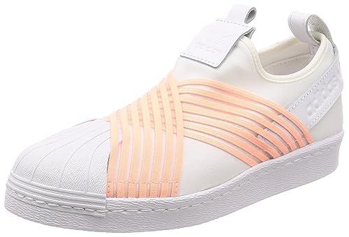 d5d9bdd66bf15 Amazon.com | adidas Women's Superstar Slip on Low-Top Sneakers ...