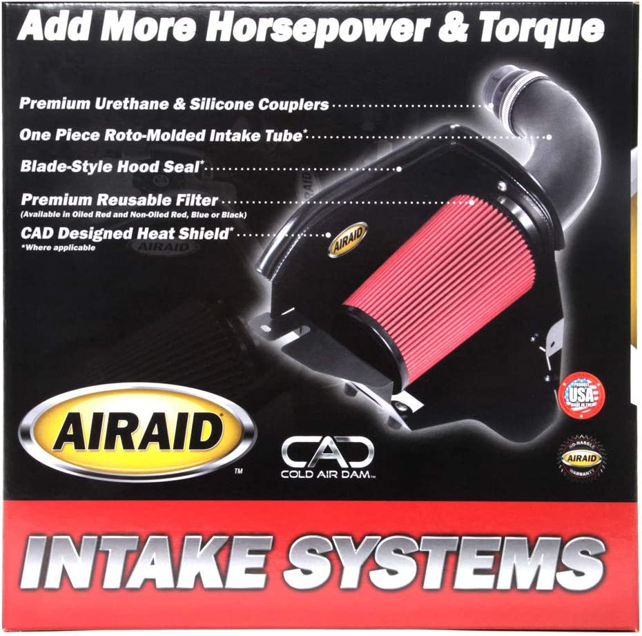 Airaid 883-282 SynthaMax Dry Filter Intake System