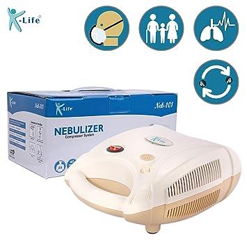 K Life Neb 101 Compressor Nebulizer White Amazon In Health