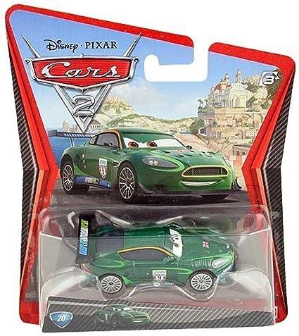 Amazon Com Disney Pixar Cars 2 Nigel Gearsley 20 1 55 Scale Toys Games