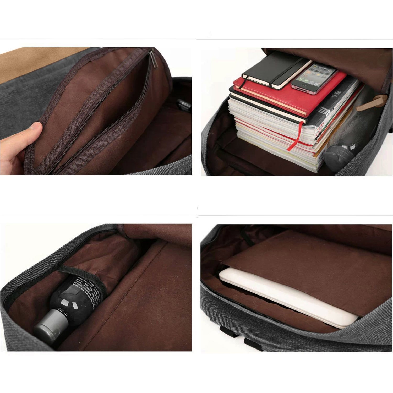 Amazon.com: EcoCity Unisex Classic Travel Laptop Backpacks School ...
