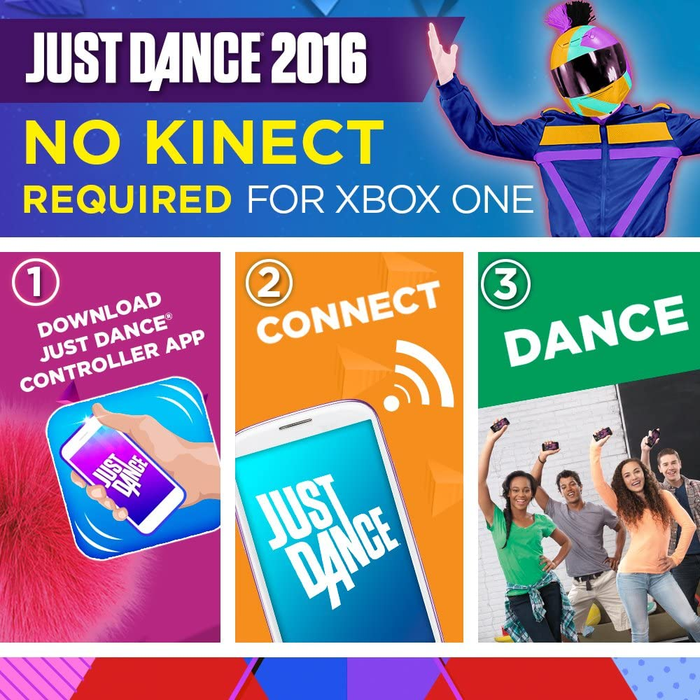 Amazon com: Just Dance 2016 - Xbox One: Ubisoft: Video Games