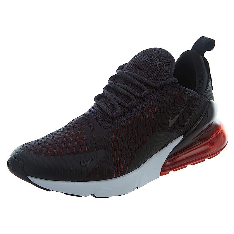 Nike Air Max 270 Sneakers Herren Dunkelgrau/Rot
